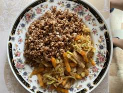 Курица с овощами - фото приготовления рецепта шаг 1