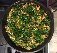 Стручковая фасоль с яйцами - фото приготовления рецепта шаг 4