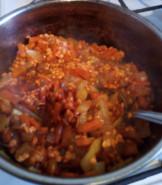 Суп из красной чечевицы - фото приготовления рецепта шаг 4