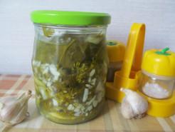 Соленые огурцы дольками, вкусный рецепт - фото приготовления рецепта шаг 5