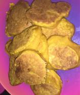 Тыквенные оладьи без яиц - фото приготовления рецепта шаг 3