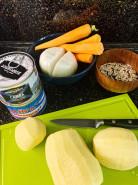 Суп из сайры - фото приготовления рецепта шаг 1