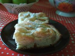 Шарлотка с грушами в духовке простой рецепт - фото приготовления рецепта шаг 9