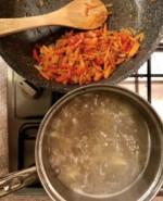 Суп с фасолью и капустой - фото приготовления рецепта шаг 6