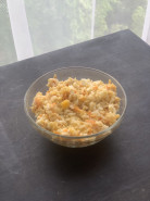 Блинчики с курицей и рисом - фото приготовления рецепта шаг 2