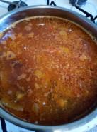 Суп из кильки в томатном соусе - фото приготовления рецепта шаг 6