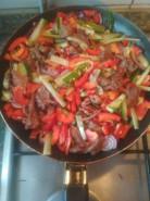 Горячее с киноа и овощами - фото приготовления рецепта шаг 2