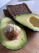 Бутерброд с авокадо - фото приготовления рецепта шаг 1