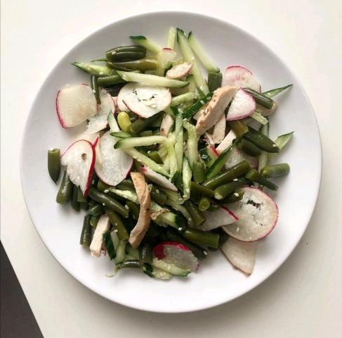 Некалорийный салат