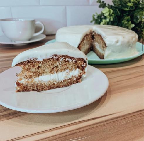 Домашний творожный торт