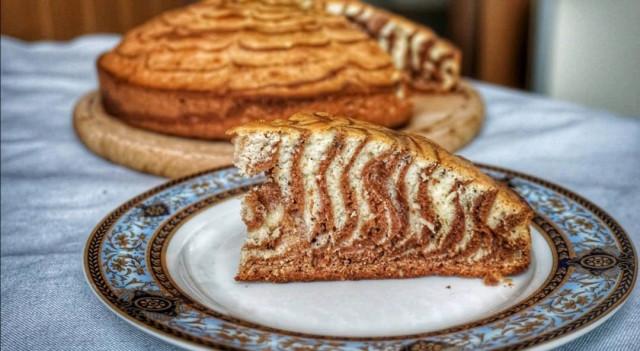 Пирог Зебра