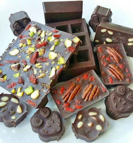 Домашний ПП-шоколад