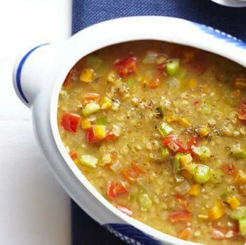 Гороховый суп по индийскому рецепту