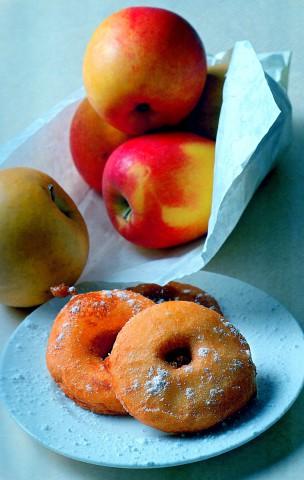 Яблоки ранет, запеченные в тесте