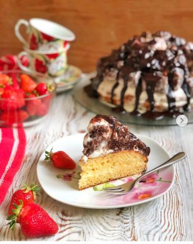 Торт «Ивашка-кудряшка»🎂