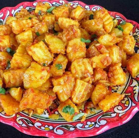 Картошка по-индийски