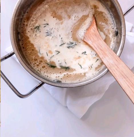 Итальянский каштановый суп-пюре