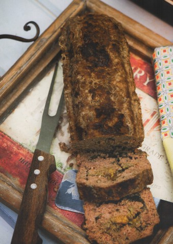 Мясной хлеб с травами
