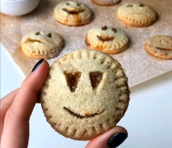 Печенье к Хэллоуину