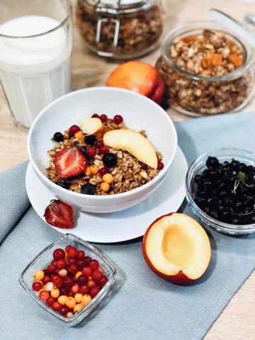 Гранола - идеальный завтрак