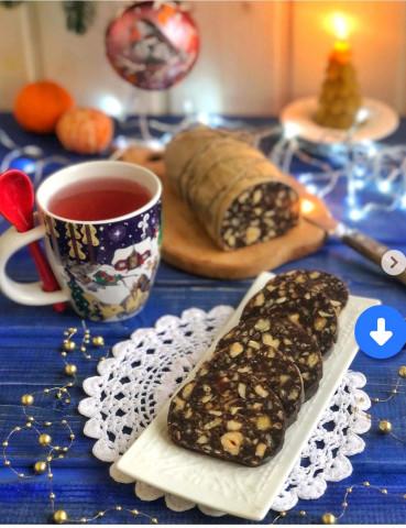 Шоколадная колбаска🫔