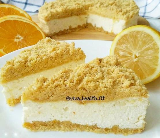 Лимонно-апельсиновая ватрушка