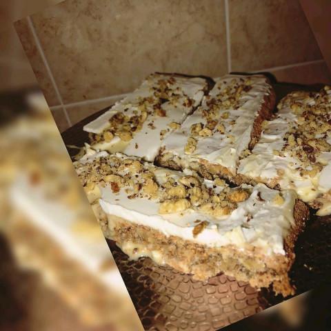 Ореховое пироженное