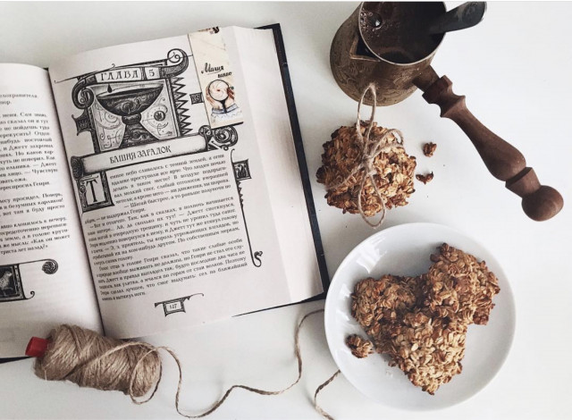 Миндально-кокосовое овсяное печенье 🍪