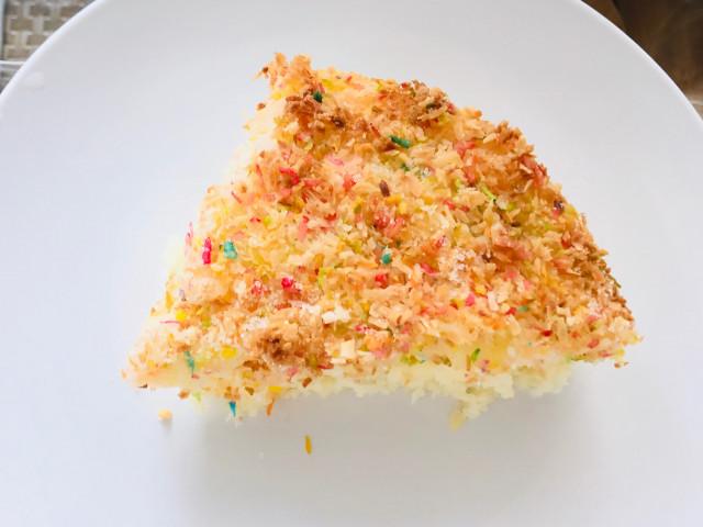 Пирог с кокосовой 🥥 подушкой