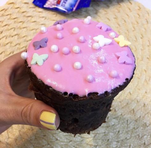Ещё один вариант кекса за 5 минут!