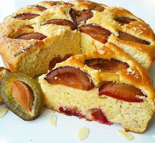 ПП-сливовый пирог