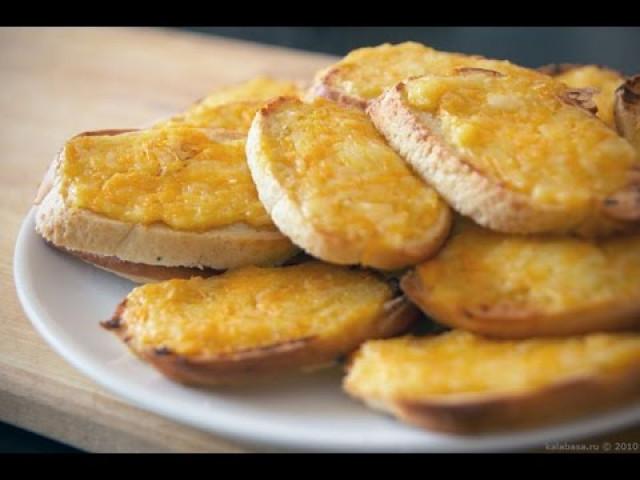 Бутерброды с плавленным сыром