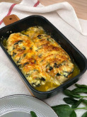 Куриная грудка фаршированная шпинатом - фото приготовления рецепта шаг 3