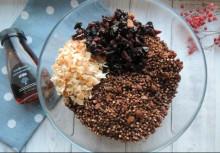 Безглютеновая гранола из зеленой гречки - фото приготовления рецепта шаг 7