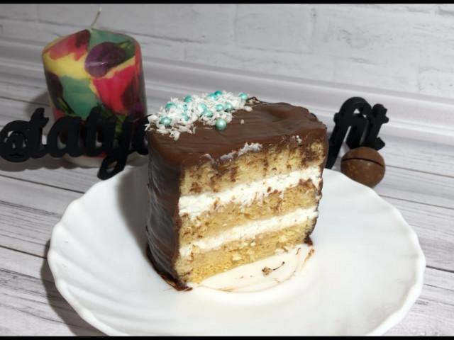 Пирожное «Баунти» за 10 минут