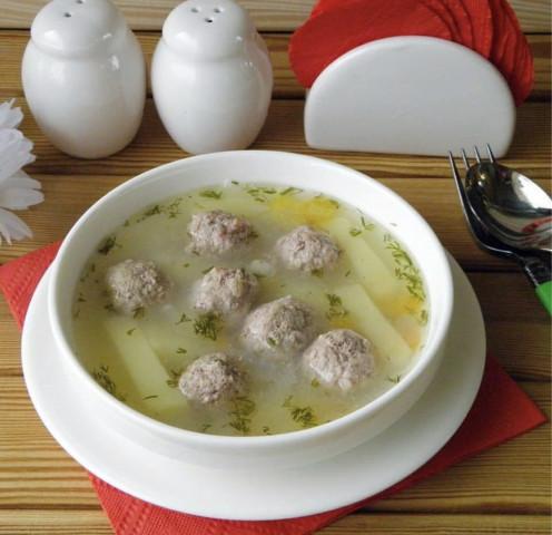 Бабушкин суп с фрикадельками🔆