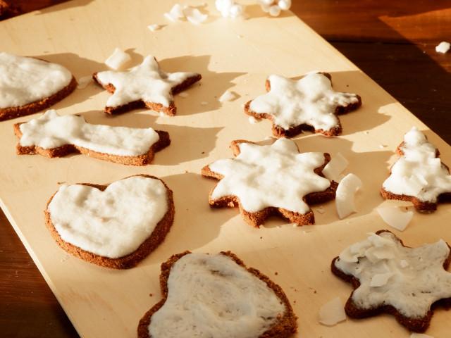 Рождественское безглютеновое печенье