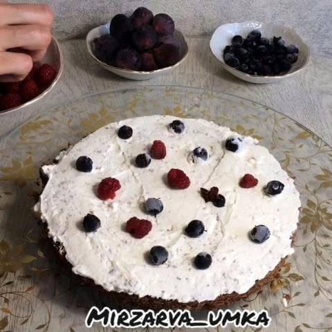 Тортик с ягодами
