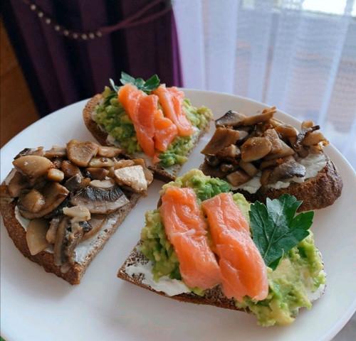 Самые вкусные и полезные бутербродики
