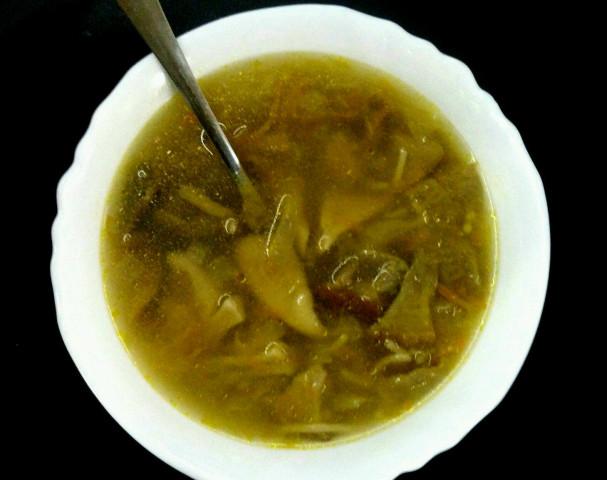 Грибной суп из белых грибов