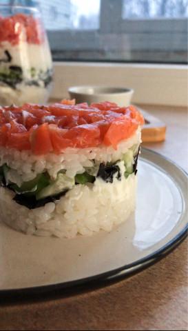 Суши-салат