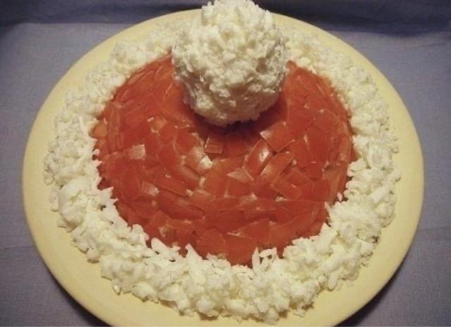 Салат «Красная шапка»