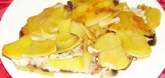 Картофель, тушенный по-румынски