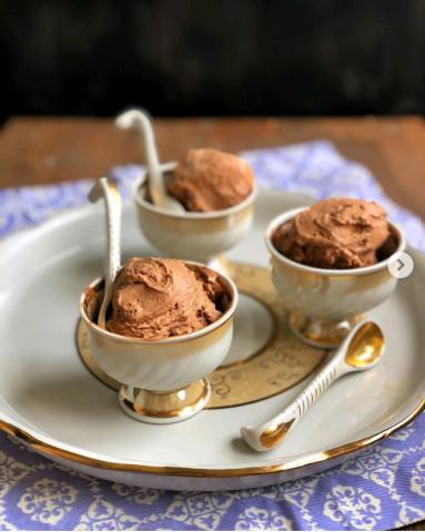 Шоколадное мороженое без мороженицы🍫🍦