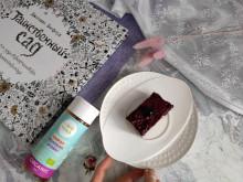 Сыроедчечкий чизкейк Смородина - фото приготовления рецепта шаг 6