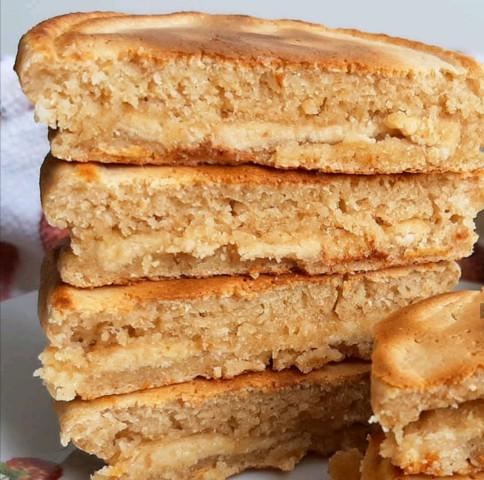 Панкейки с арахисовым маслом