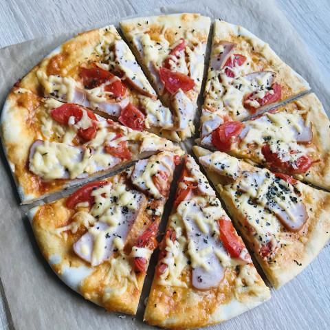Тесто для пиццы в хлебопечке 🍕 вкусная пицца