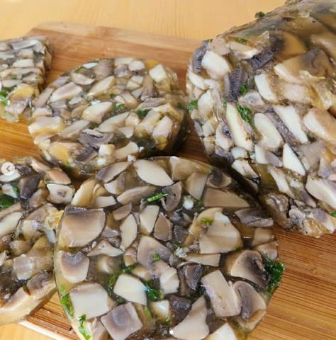 Колбаса из грибов