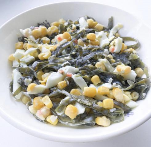 Салат с морской капустой🌊