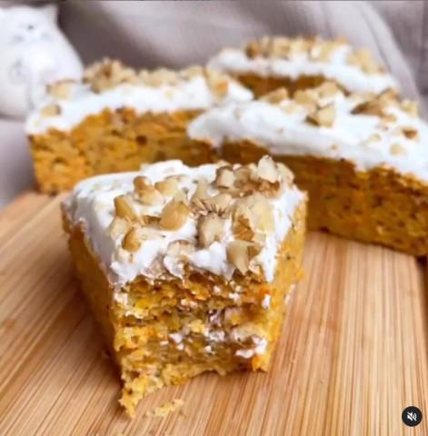 Потрясающий морковный пирог